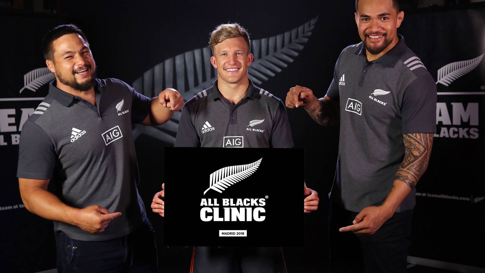 Foto: Cartel promocional del clínic que impartirán los All Blacks en Madrid en agosto. (Kiwi House)