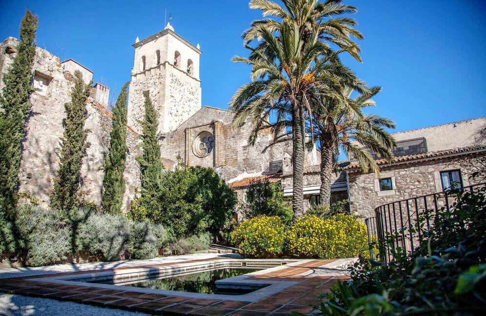 Foto: El jardín de la Casa de Orellana, decorada por Duarte Pinto Coelho.