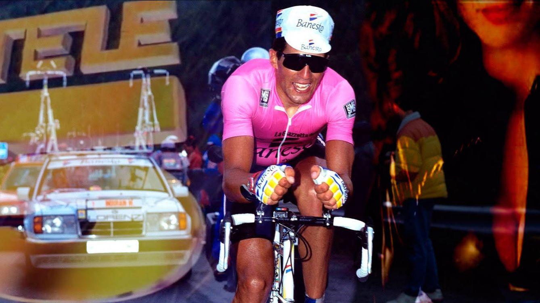 Un ciclista busca a Jacq's montado en compresor: los Giros de Telecinco