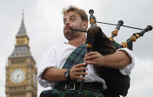 Cinco gráficos para entender las diferencias entre Escocia y UK