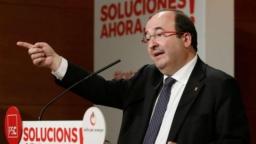 Foto: Acto del PSC en Tarragona. (EFE)