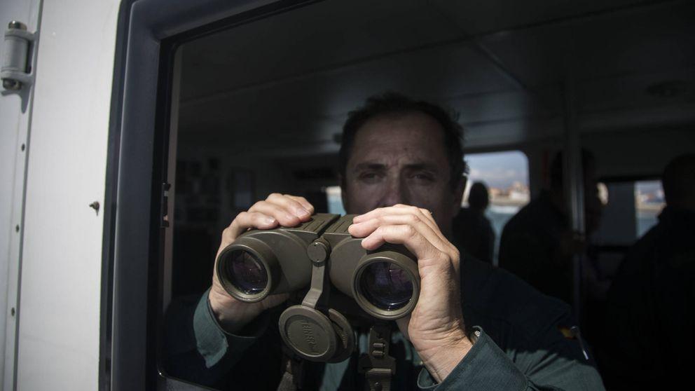 En el campo de batalla: así busca la Guardia Civil a los 'narcos' en La Línea