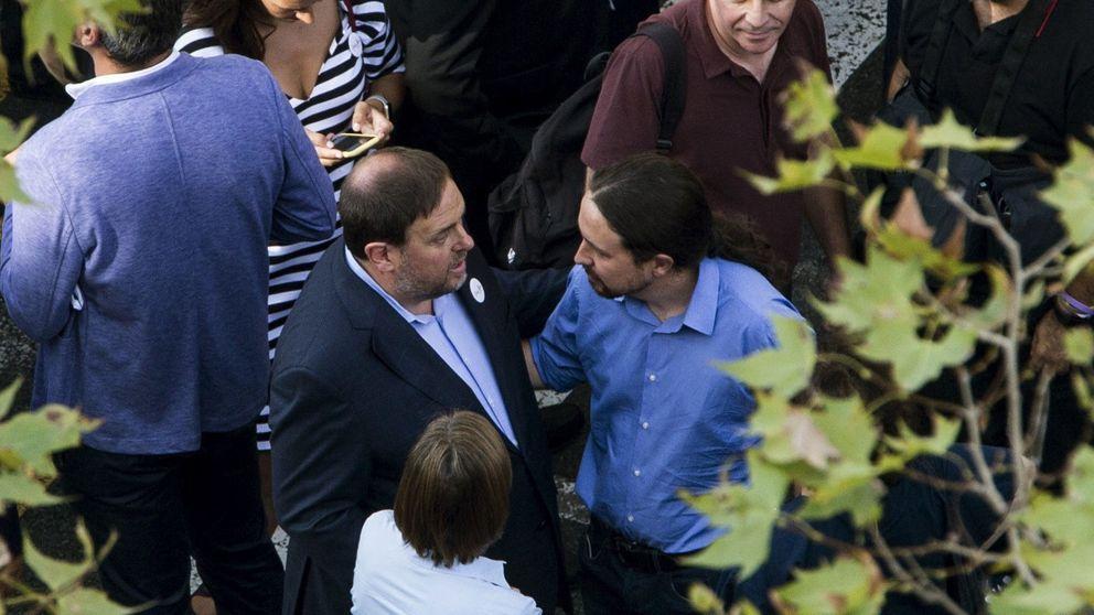 Iglesias apuesta todo a convencer a ERC y Puigdemont para cogobernar con Sánchez