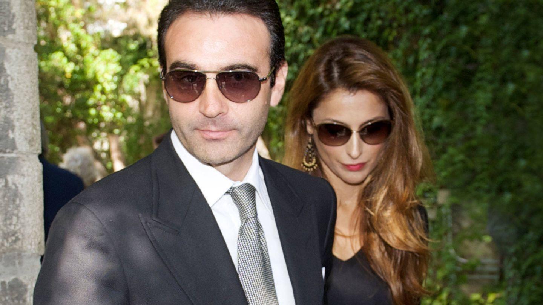 Paloma Cuevas y Enrique Ponce en una imagen de archivo. (Getty)