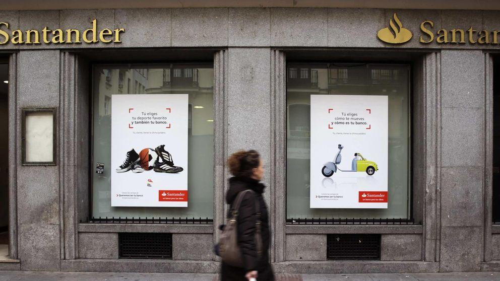 Santander saca a bolsa sus oficinas para reducir el pago de impuestos