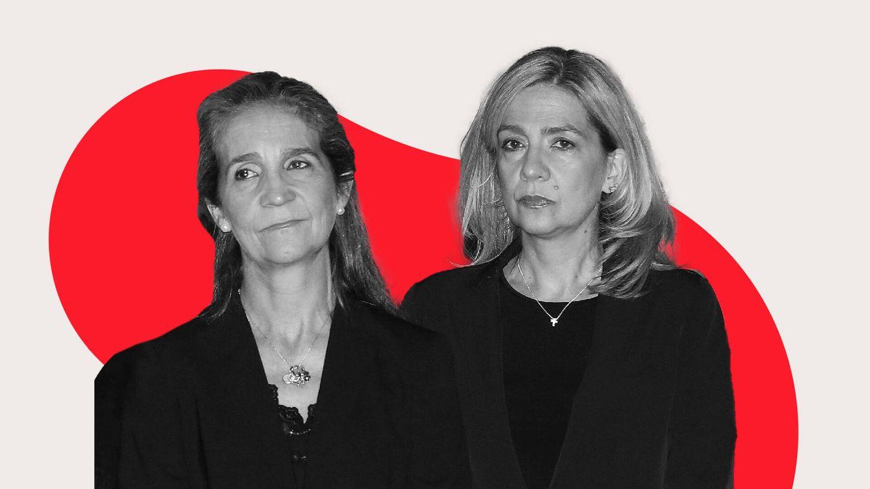 Elena y Cristina siguen presentes para los españoles, pero muestran indiferencia por su polémica vacunación