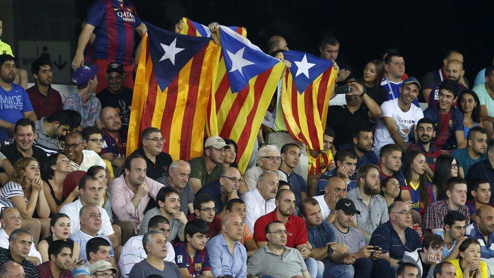 Barra libre a las 'esteladas' en el Camp Nou... hasta nuevo aviso de la UEFA