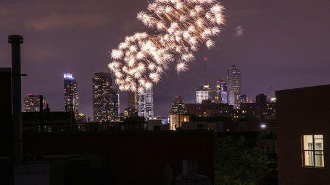 Anarquía en la noche de Nueva York: la pandemia dispara el uso de fuegos artificiales