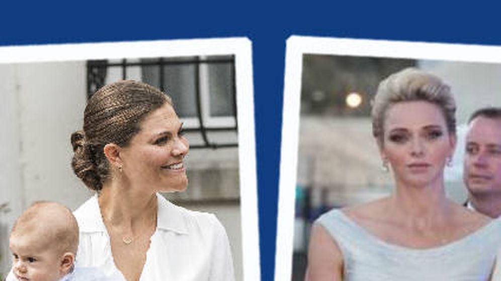 Foto: Charlène y Victoria, protagonistas de esta Semana de Estilo Real