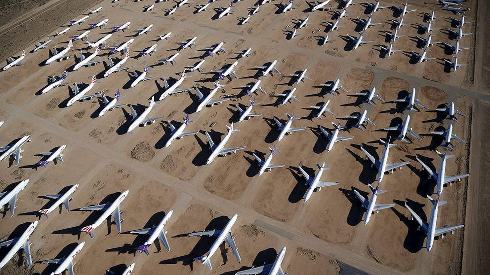 Los mayores cementerios de aviones donde van a morir gigantes de acero