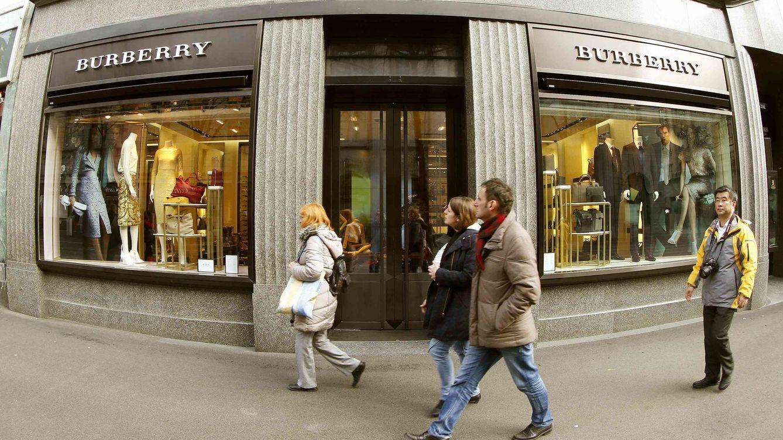 Foto: Imagen de una de las tiendas de Burberry. (Reuters)