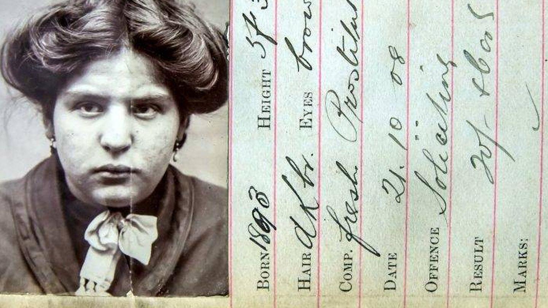 Edith Bird, quien fue ajusticiada en 1908. (Swns.com)