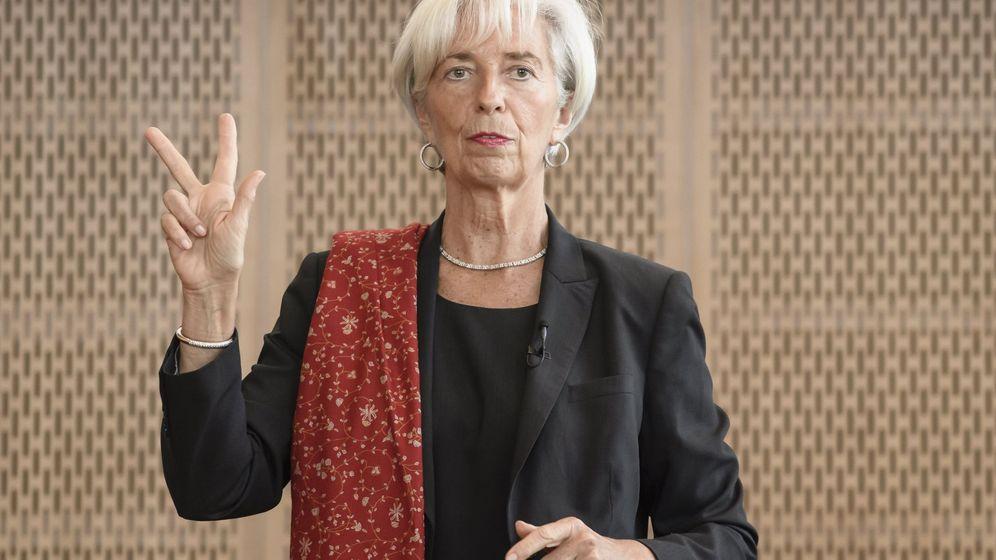 Foto: Conferencia de Christine Lagarde en Berlín. (EFE)