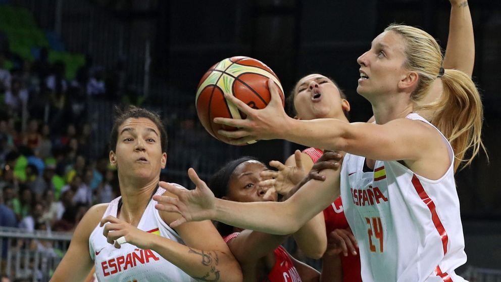 España gana sin apuros a Canadá y se asegura la segunda plaza del grupo