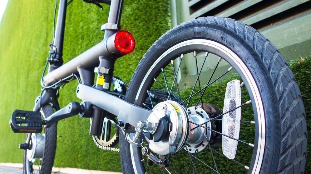 Foto: Bicicleta eléctrica de Xiaomi (Foto: YouTube)