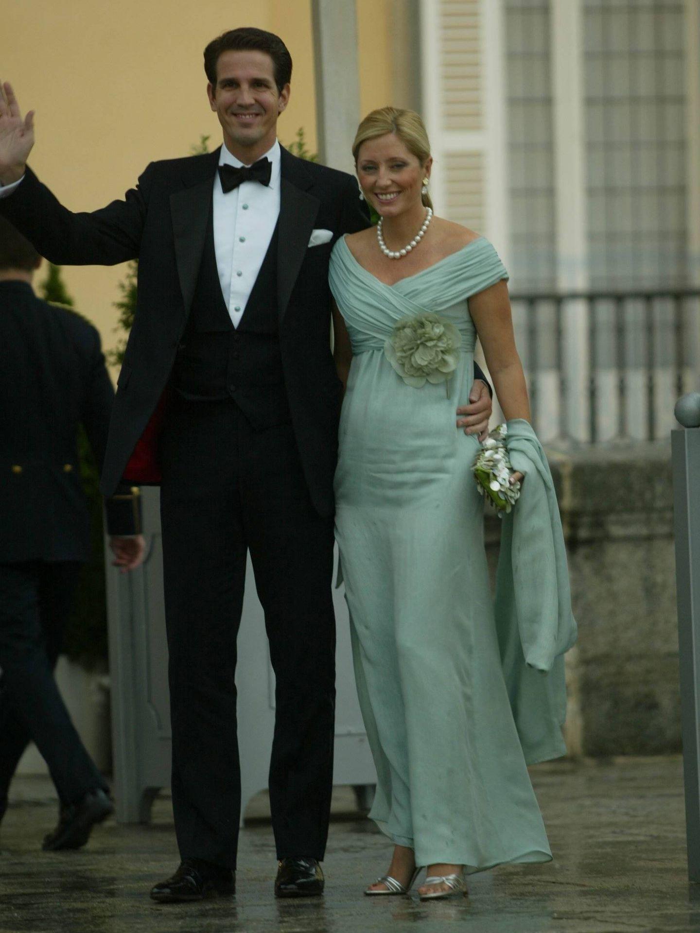 Pablo y Marie-Chantal de Grecia. (CP)