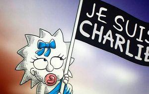 Los Simpson rinden homenaje a Charlie Hebdo: Je Suis Charlie