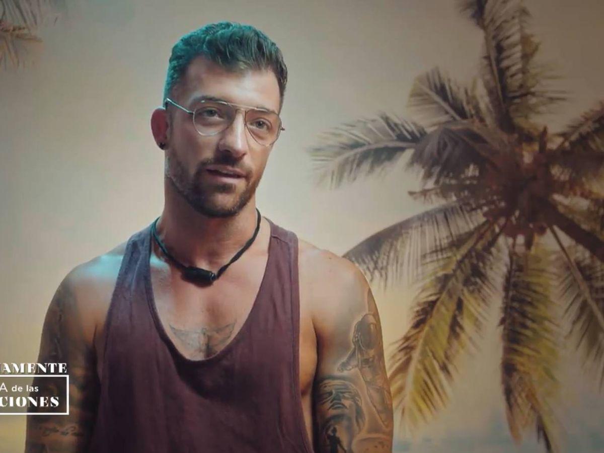 Foto: Rubén Sánchez, 'tentador' de 'La isla de las tentaciones'. (Captura de Mediaset)