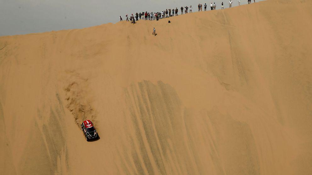 ¿No queríais arena? Pues tomad arena: la emboscada de Coma con este Dakar