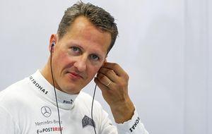 Schumacher sale del coma y deja el hospital para seguir recuperándose
