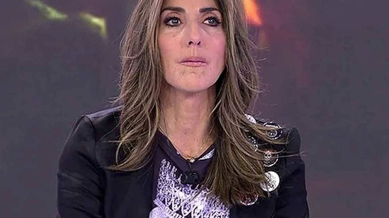 Paz Padilla, en 'Sálvame'. (Telecinco)