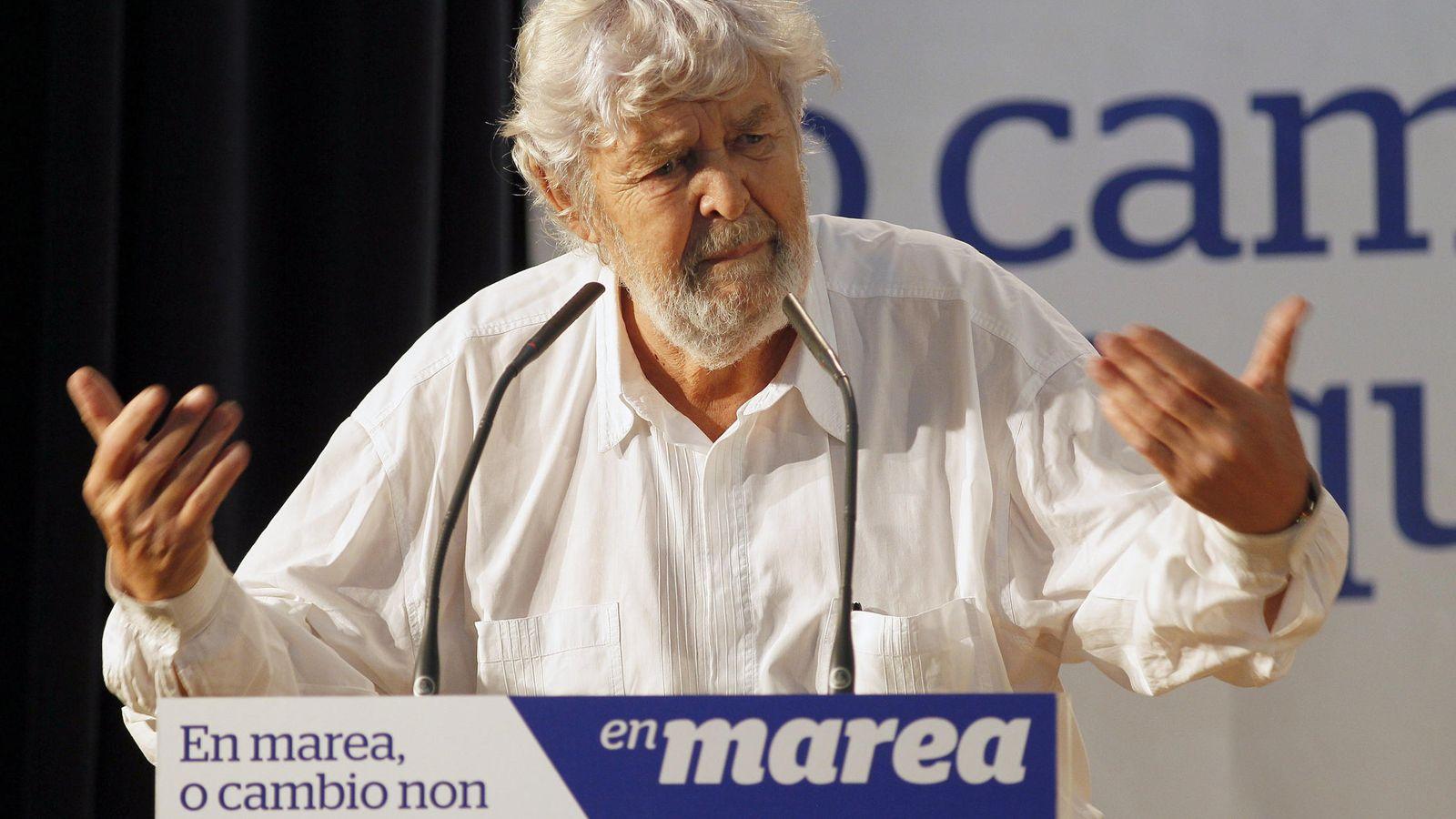 Foto:  El portavoz nacional de Anova y parlamentario de AGE, Xosé Manuel Beiras. (EFE)