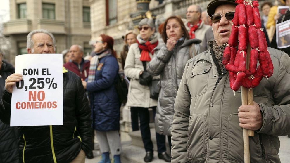 La pensión máxima ya solo supone el 80% de lo cotizado a la Seguridad Social