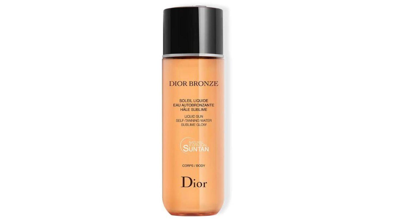 Solei Liquide Eau Autobronzante de Dior.