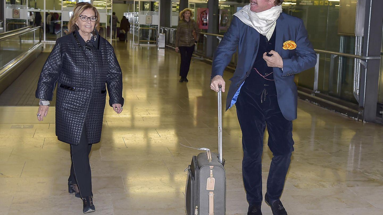 Bigote Arrocet y María Teresa Campos (Gtres)