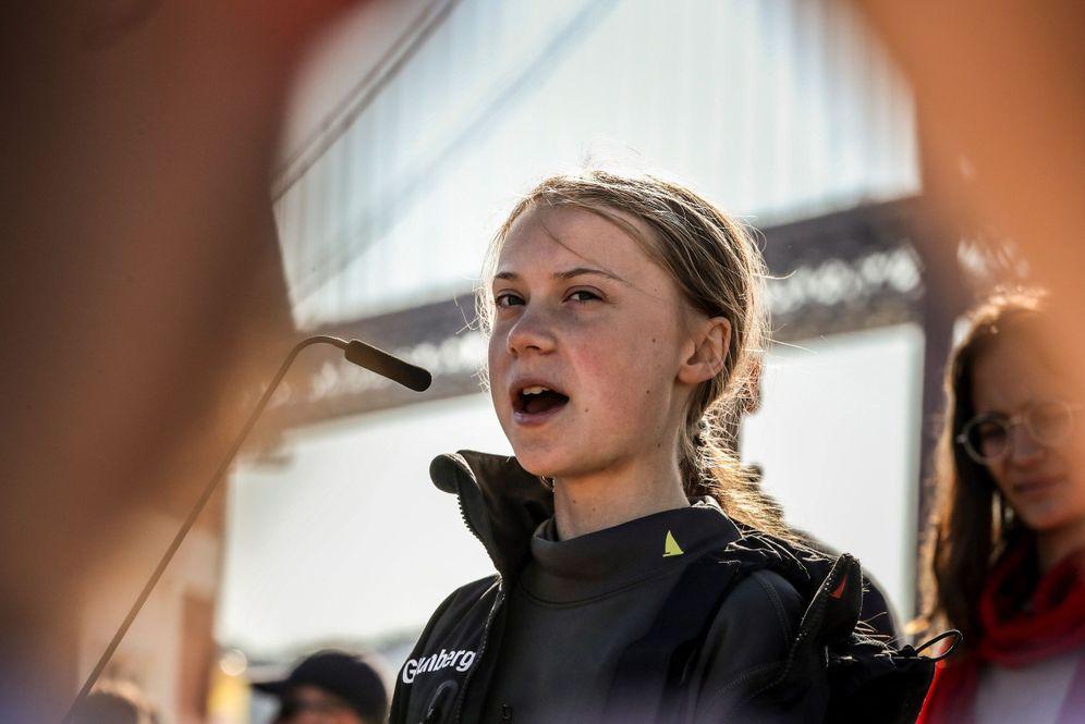 Foto: La activista sueca Greta Thunberg. (EFE)