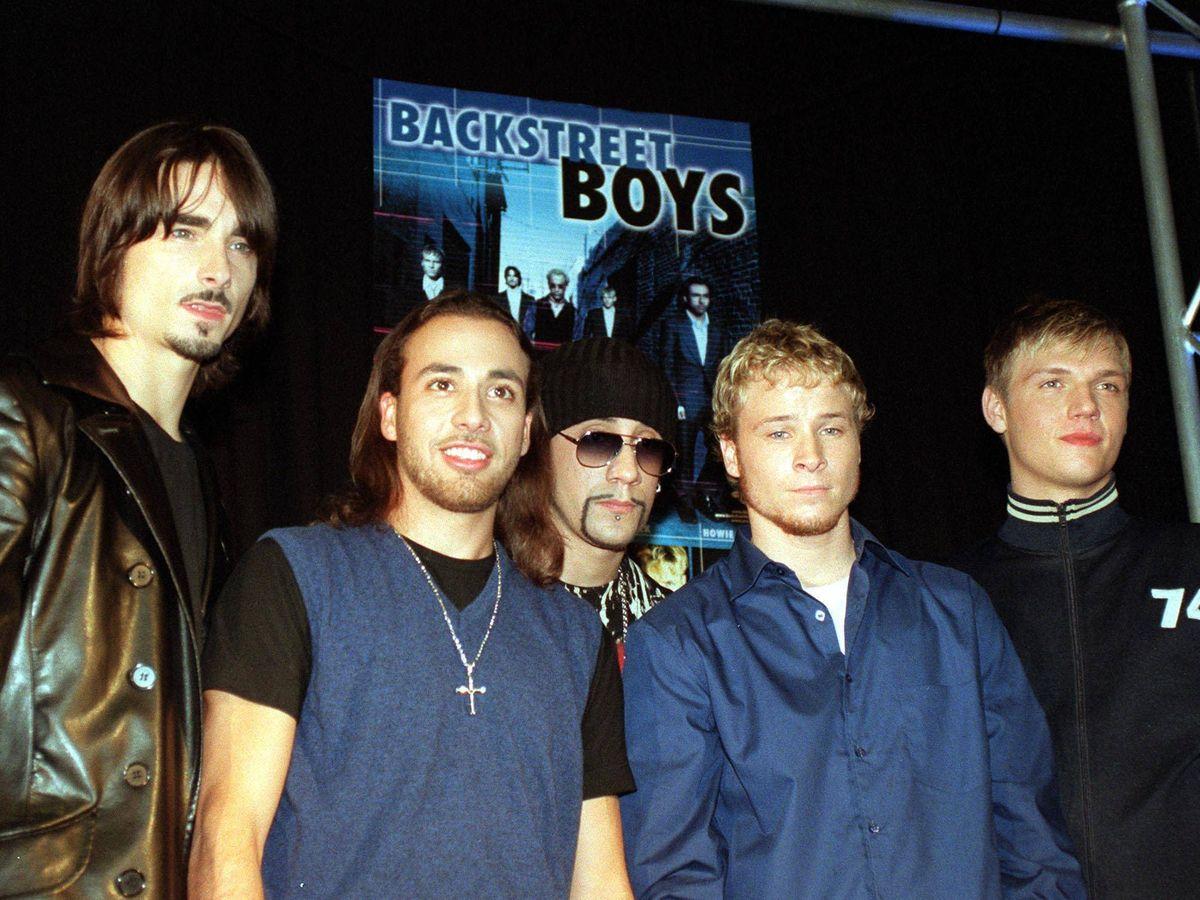 Foto: Los Backstreet Boys. (Getty)