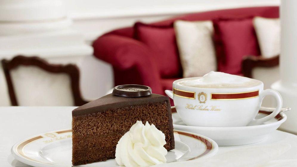 Foto: La tarta Sacher nació en el hotel del mismo nombre.