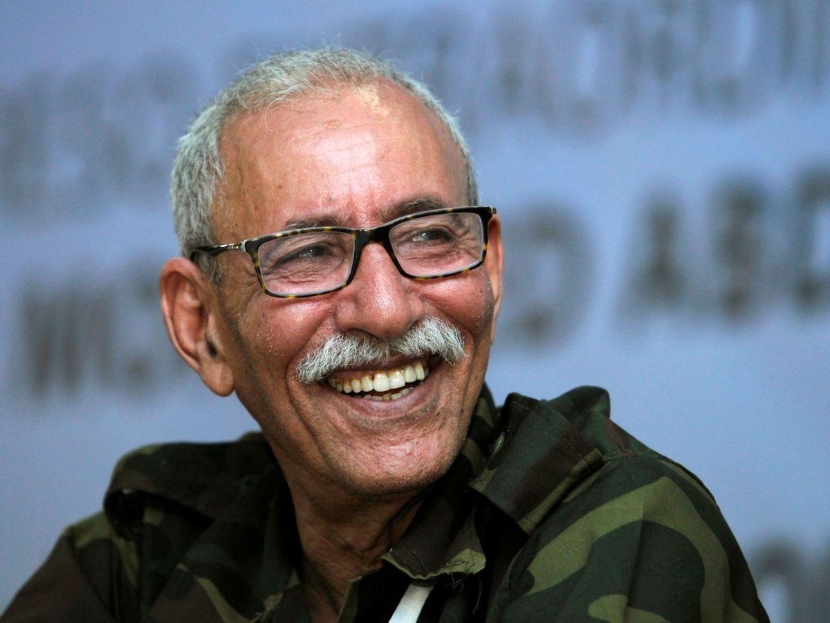 Foto: El líder del Frente Polisario, Brahim Ghali. (Reuters)