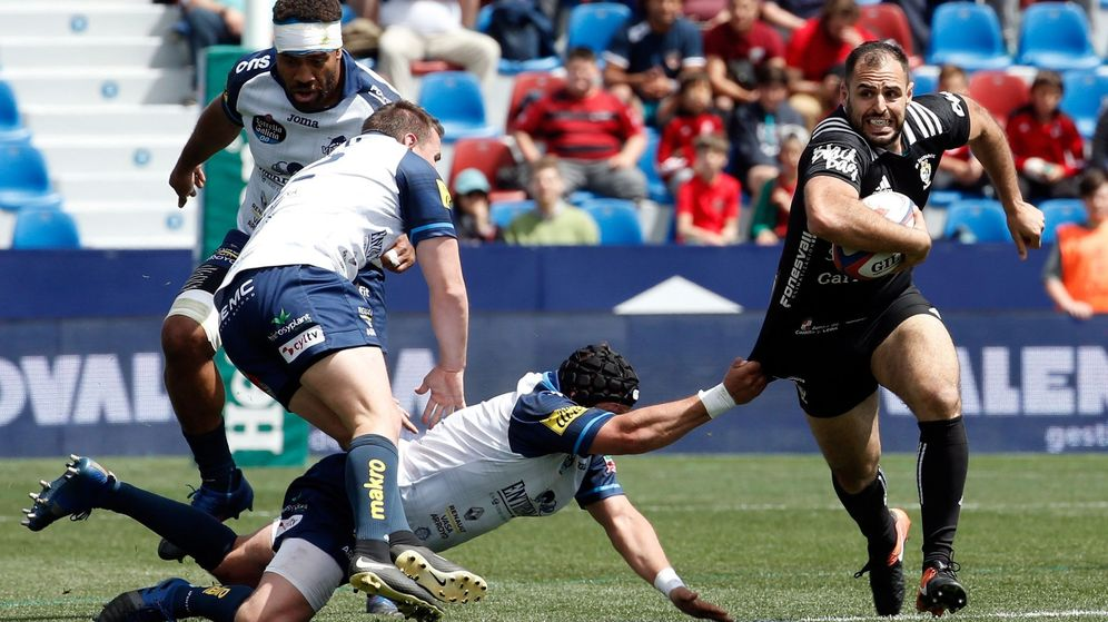 Foto: Los clubes de la liga masculina se unen para impulsar el rugby español. (EFE)