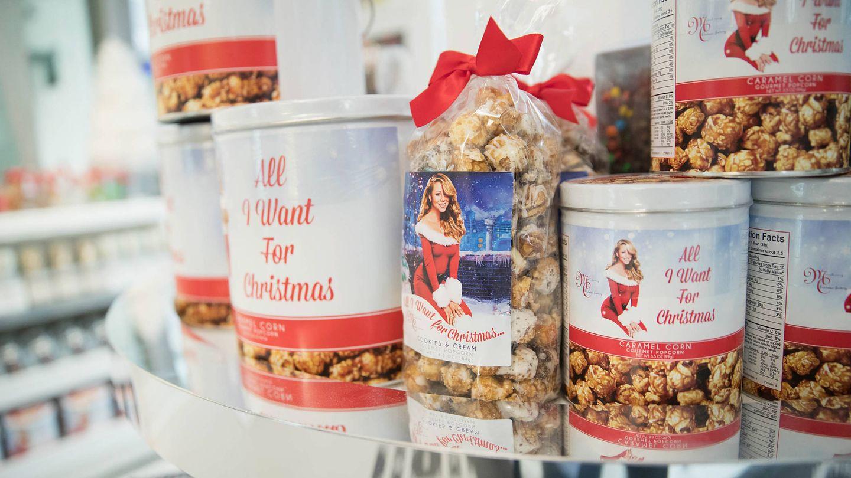 La Mariah Carey Christmas Factory. (Getty)