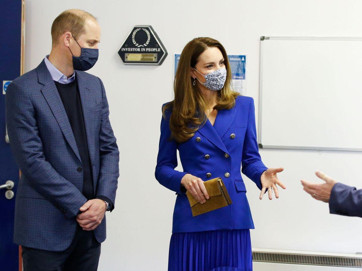 Foto: Los duques de Cambridge, este lunes en Escocia. (Reuters)