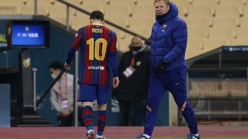 Ronald Koeman: ¿Si Leo Messi se quedará en el Barça? Ojalá, pero no confío en ello