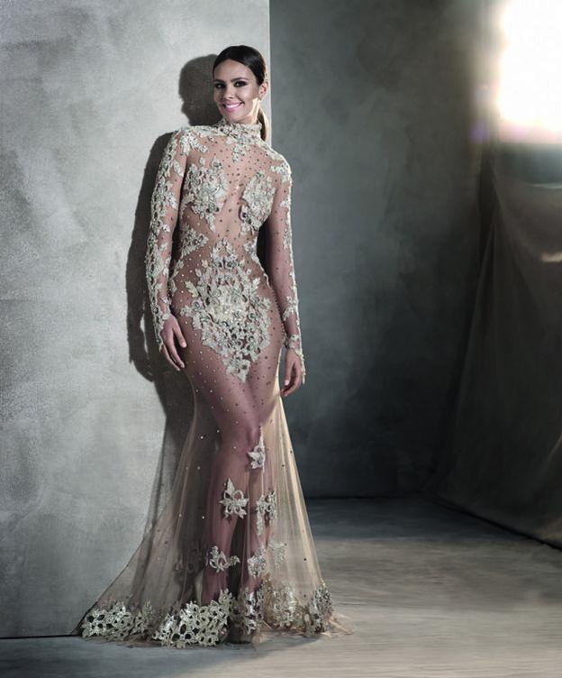 Foto: Cristina Pedroche con su vestido de Pronovias