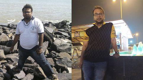 La dieta de un joven indio para lograr adelgazar 50 kilos en cinco meses