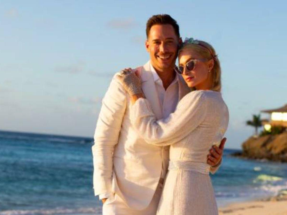 Foto: Carter Reum y Paris Hilton. (Cortesía de Paris Hilton)