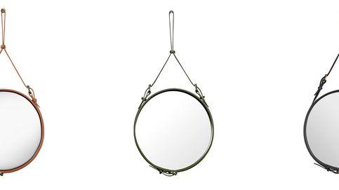 El espejo de cuero que todo soltero desea para su casa