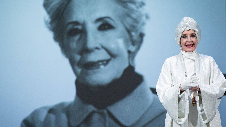 Concha Velasco, en una representación de 'El funeral'. (Getty)