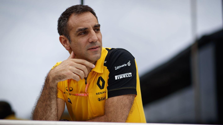 El responsable de Renault, Cyril Abiteboul. (EFE)