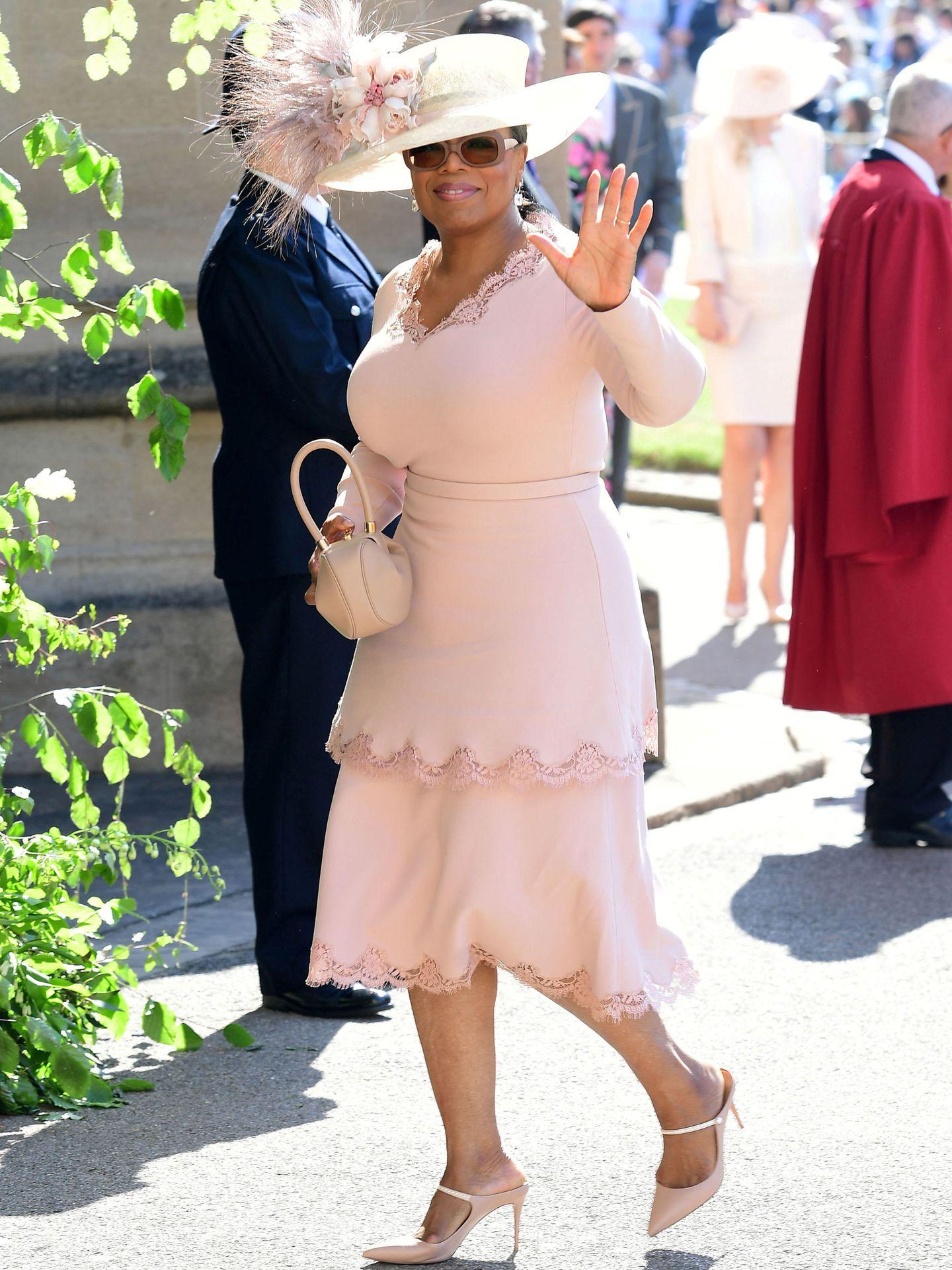 Oprah Winfrey, en la boda de Harry y Meghan. (Reuters)