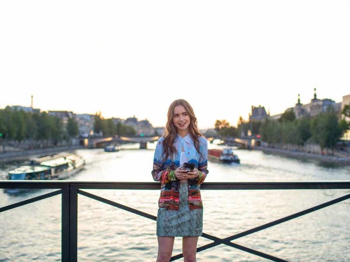 Foto: Lily Collins, en 'Emily in Paris'. (Netflix / Cordon Press)
