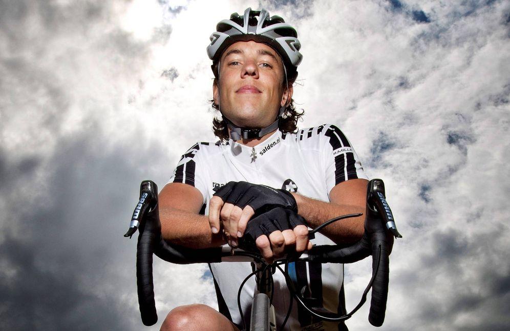 Foto: Dekker en 2011, en su intento fallido por volver al ciclismo profesional. (EFE)