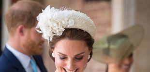 Post de Kate Middleton reaparece blanca y radiante en el bautizo del príncipe Louis