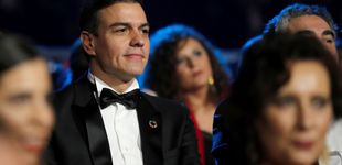 Post de La fiesta del cine (y de Sánchez con pajarita) que se perdieron Begoña Gómez y Marisol