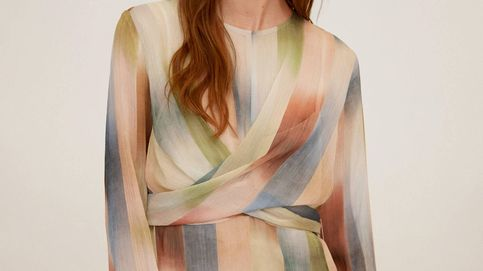 Mango revoluciona el estampado de rayas con un vestido que hace tipazo como pocos