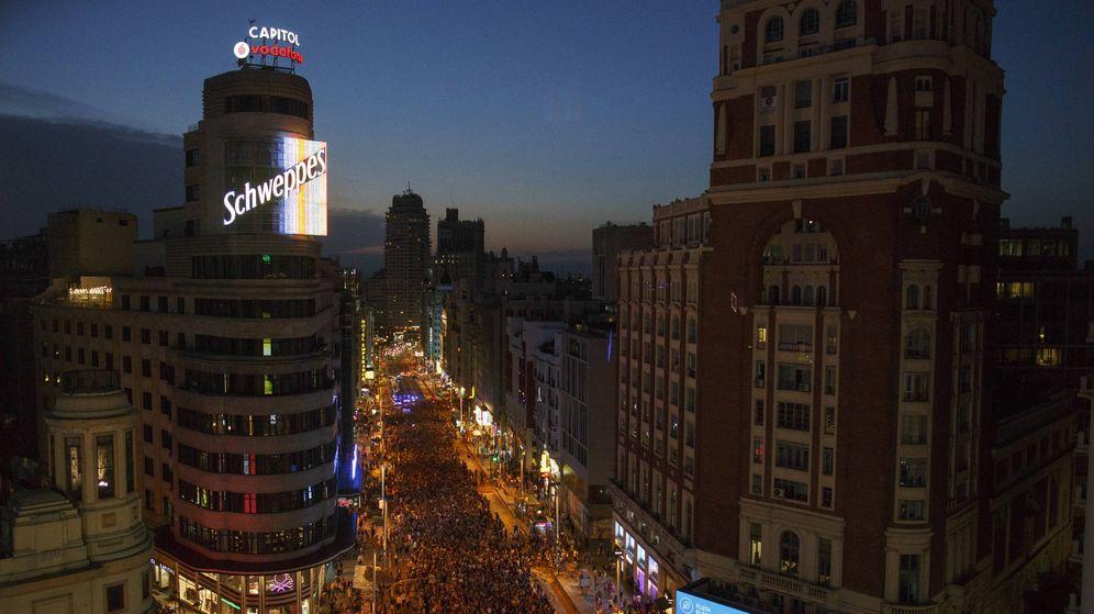 Foto: Vista nocturna de Madrid (Pablo Blazquez Dominguez/Getty Images)